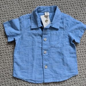 NWT Tucker + Tate baby button down